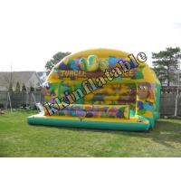 Kids Jungle Air Inflatable Bouncer Moonwalk Kkb-g002 For Children Party Hire Manufactures