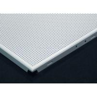 China Environmental Square  Clip In Ceiling Tiles , Metal acoustic ceiling tiles 12x12 on sale