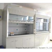Low Noise Floor Mounted Fume Hood 1.2/1.5/1.8m Acid Resistant Countertops Manufactures