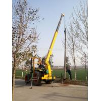New model pole digging earth auger pile driver machine for electric power project Manufactures