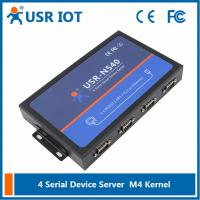 China [USR-N540]  4 Serial Port Ethernet converter,  Modbus gateway RS232 RS485 RS422 to TCP/IP converter on sale