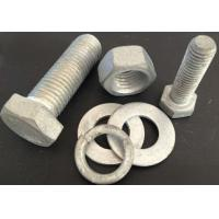Quality Galvanized Bolts and nuts for sale