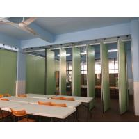 China Commercial Furniture Aluminium Profile Foldable Partition Wall Retractable And Flexible on sale