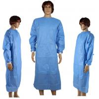 China Dressing Disposable Surgical Gown Waterproof For Medical / Industrial Safety on sale