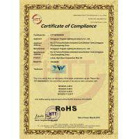 Yingwei Lighting Accessory Co.,Ltd. Certifications