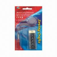 Sewing Set with Threader Magnifier Manufactures