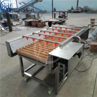 Hair Removel Fruit and Vegetable Washing Machine 500 - 1000kg / h Capacity Manufactures