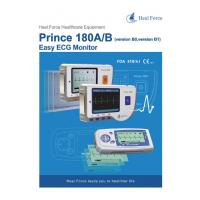 HEAL FORCE PRINCE 180B Handheld Easy ECG EKG Portable Heart Monitor Software Electrocardiogram Electro CE Manufactures