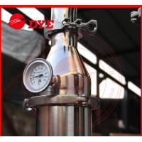 DYE 70Kg Miniature Alcohol Home Distilling Machine 3mm Thickness Manufactures