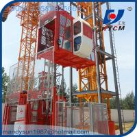SC100/100 Double Cages Material Construction Elevator for Bridge with Safety Device Manufactures