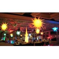 Led Light Inflatable ,Colourful Inflatable Star Lights For Event Decoration Manufactures