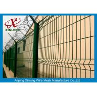 Courtyard Construction PVC Coated Wire Mesh Fencing 2000 * 2500mm Manufactures