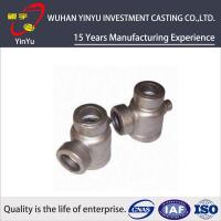 Durable 316 / 304 Stainless Steel Pipe Fittings Lost Wax Investment Casting Process Manufactures