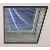 China Aluminium Casement Plisse Net Shades / Window Blind Flyscreen Window on sale