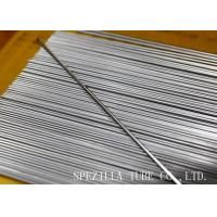 Seamless Cold Drawn Steel Tube Custom Length Ss Seamless Pipe / High Pressure Stainless Steel Tubing ASTM A213 Manufactures