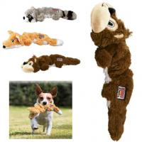 Squirrel Knots Plush Pet Toys , Indestructible Stuffed Squeaky Dog Toys Manufactures