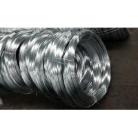 Heavy Zinc Coating Spring Galvanized Steel Wire 1.0-5.0mm Main Single For Stranded Conductors Manufactures