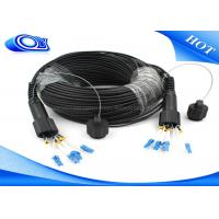 Buy cheap Waterproof Outdoor Fiber Optic Patch Cord ODLC / PDLC Duplex or Simplex from wholesalers