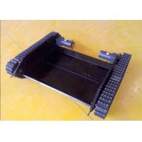 Rubber Track Chassis for Robot with DIY Wheels(980mm in length) Manufactures