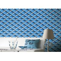 China Waterproof 3D Effect Modern Textured Wallpaper With Pvc Vinyl Materials on sale