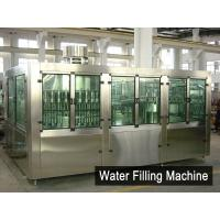 Automatic Water Filling Machines XGF50-50-15 For Liquid / PET Bottle Manufactures