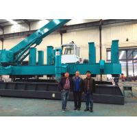 Roadside Hydraulic Static Pile Driver , Pile Pressing Machines Energy Saving Manufactures