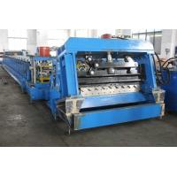 China Steel Silo Corrugated Sheet Roll Forming Machine For Wall Sheet / Panel CE on sale