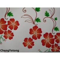 Buy cheap Color Flower Printing Prepainted Galvanized Steel Coil Use In House Interior from wholesalers