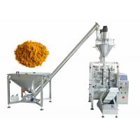 Powder Packaging Machine with Auger Filler For Packing Curry and Spice Manufactures