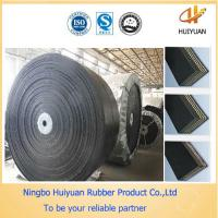 Corrosion Resistant Rubber Conveyor Belts with high abrasion (EP200) Manufactures