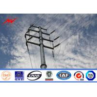 China Electric Powerful IP65 Galvanised Steel Poles For Rural Electrical Projects on sale