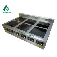 China double range, multi-hob cooker, 3.5KW~30KW commercial induction cooker, griddle, kinds of food steamer, on sale