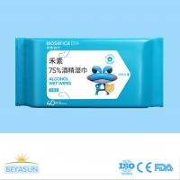 75% Medical Alcohol Anti Virus Wet Wipes Ready for Ship Antiseptic Disinfectant Wet Wipes for sale