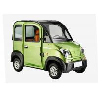Disc Brake Steering Wheel Economic Electric Cars , 1200W 3 Seats Small Electric Cars Manufactures