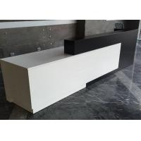 Contracted Style Fashion Retail Store Checkout Counters Black And White Color Manufactures
