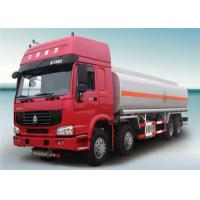 6x4 HOWO Chassis  336HP Euro 2 Euro 3 Emission Cabon Steel  20000L Diesel  Fuel Tanker Truck Manufactures