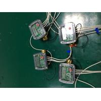 Brass Body Ultrasonic Flow Meter , DN20mm Digital Water Meter With M - BUS AMR System Manufactures