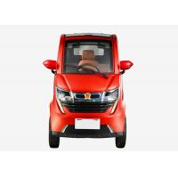 Family 1200W 3 Seats Electric Vehicle Car , Disc Brake 50Ah Battery Lightweight Electric Car Manufactures