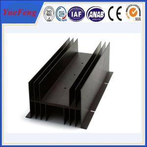 Customized electronic enclosure extruded aluminum manufacturer, fin aluminum profiles Manufactures