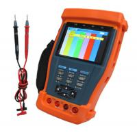 "Quality CCTV Tester with Digital Multimeter, 12VDC Output , 3.5"" TFT monitor cctv tester monitor for sale"