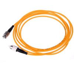 Fiber Optic Patch Cord FC To FC Multimode Simplex Manufactures