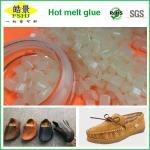Light Yellow Granule Hot Melt Glue Pellets Glue For Rubber Shoes Manufactures