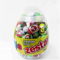 Diamond and Dinosaur Egg Shape Healthy Hard Candy , Pop Snack Children's Love Manufactures