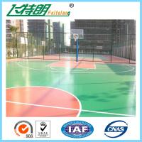 Waterproof Acrylic Athletic Surfaces Custom Outside Gym Basketball Courts Tiles