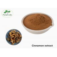 Quality Pure Natural Cortex Bark Cinnamon Bark Extract Brown Powder For Food Field for sale