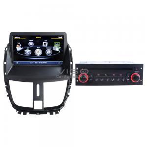 China Car Stereo for Peugeot 207(2009-2013) Headunit GPS Navigation Sat Nav Auto Radio DVD Player C207 on sale