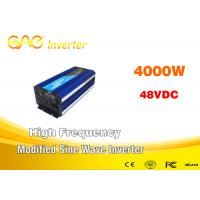 China 4000w Modified Sine Wave Inverter Off Grid Inverter 12v 220v For Home Supply on sale