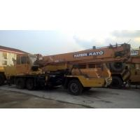 Original Color Used Kato Crane For Sale , 16 Ton NK160E Import From Japanese Manufacure Manufactures