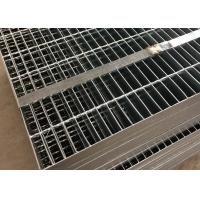Quality Plain Bar Stainless Bar Grating , Anti Corrosive Floor Grates Stainless Steel for sale