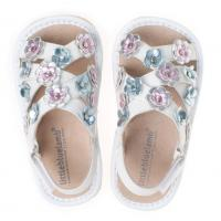 fashion squeaky leather kids sandals with dress shoe SQ-B41006SL Manufactures